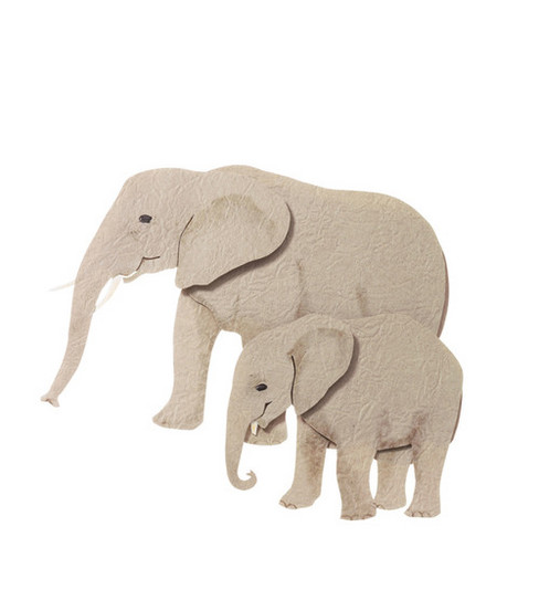 Jolee\u0027s By You Dimensional Embellishment-Elephants