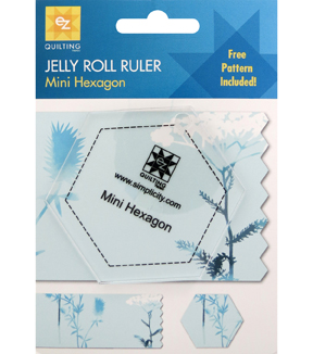 Ez Quilting Jelly Roll Rulers-Hexagon