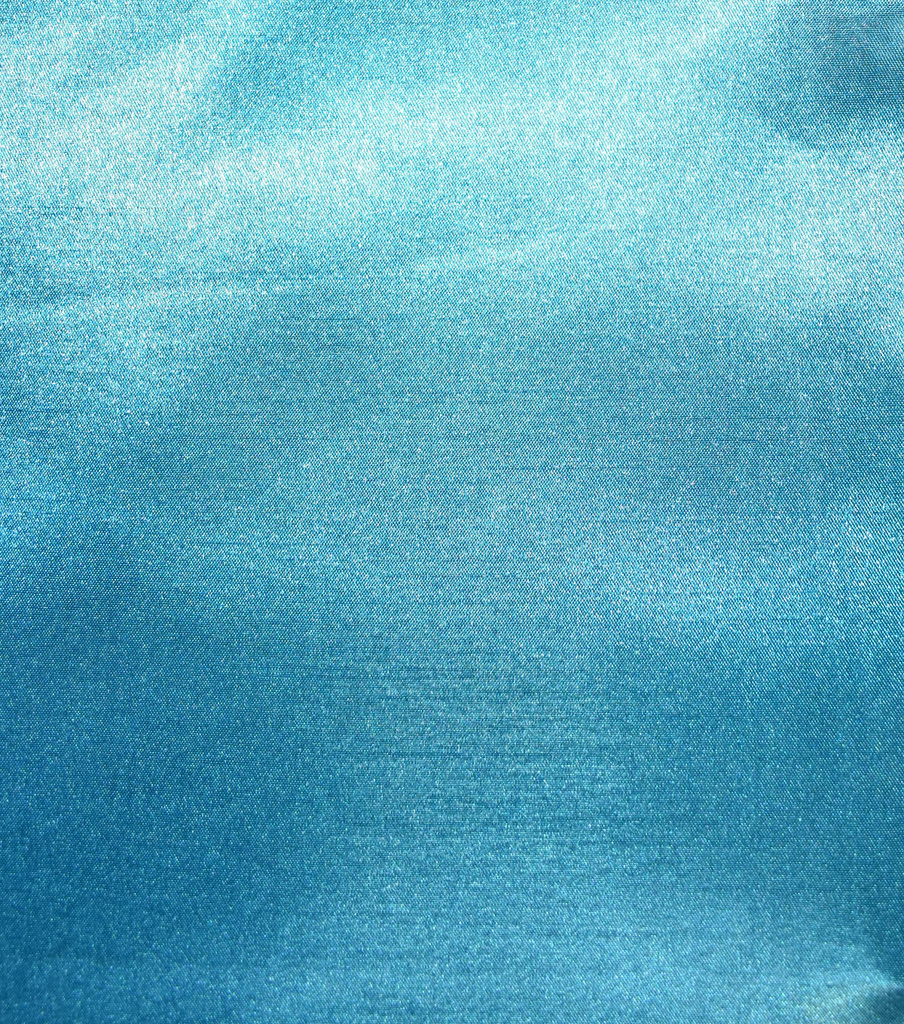 Fast Fashion Shantung Satin Fabric, Turquoise