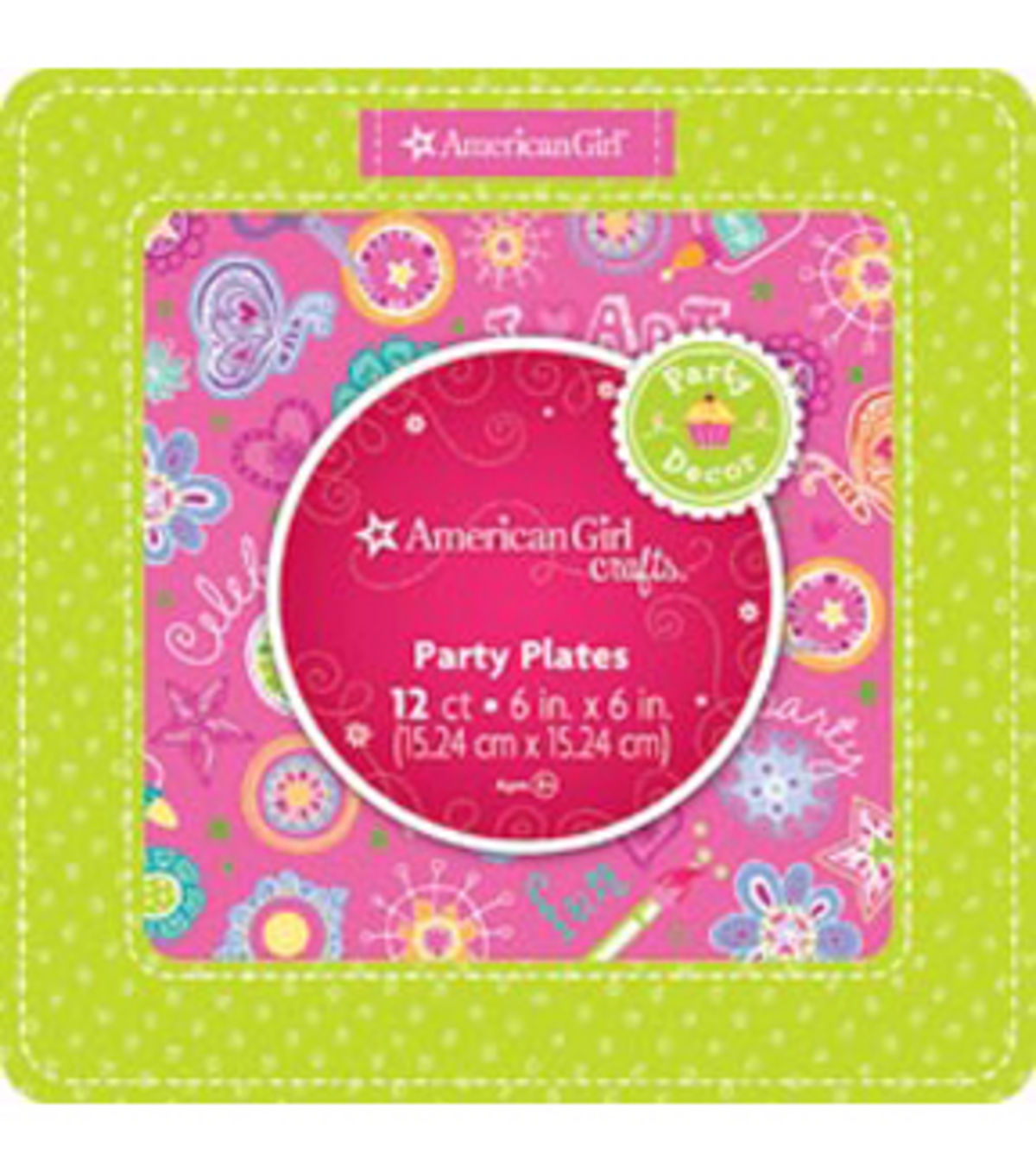 American Girl Party Plates
