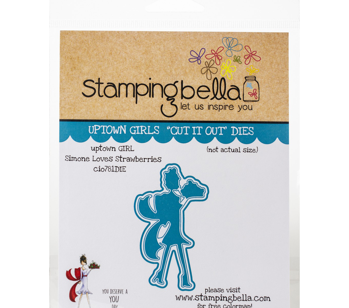 Stamping Bella Cut It Out Dies-Simone Loves Strawberries