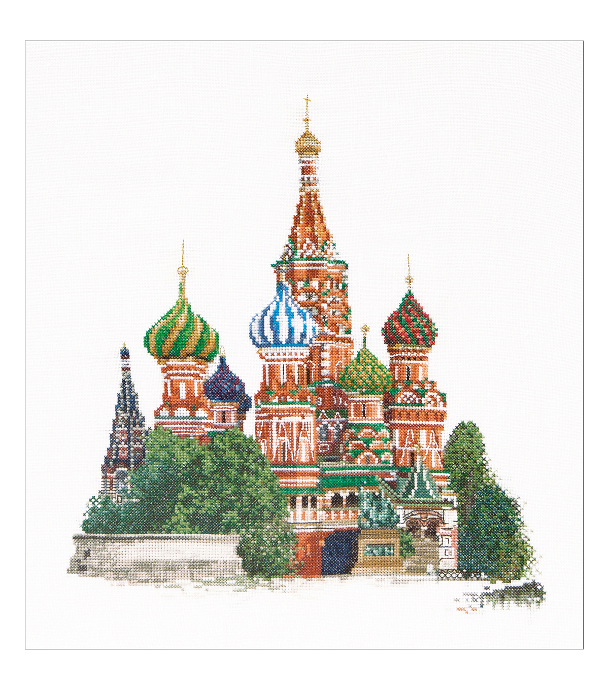 Thea Gouverneur St. Basil\u0027s Cathedral Moscow Counted Cross Stitch Kit