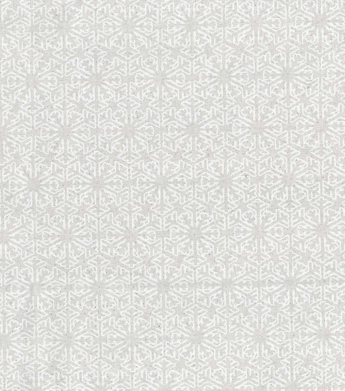 Keepsake Calico Holiday Cotton Fabric 43\u0022-Flakes with Glitter
