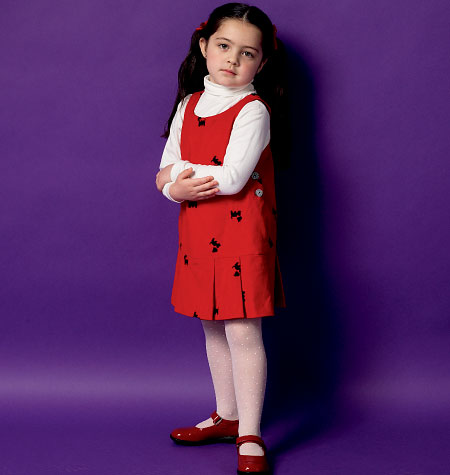 Butterick Child Dress-B5945
