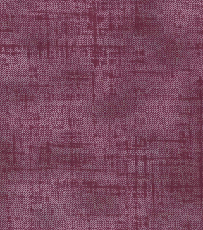 Vintage Cotton Fabric 43\u0027\u0027-Red Herringbone