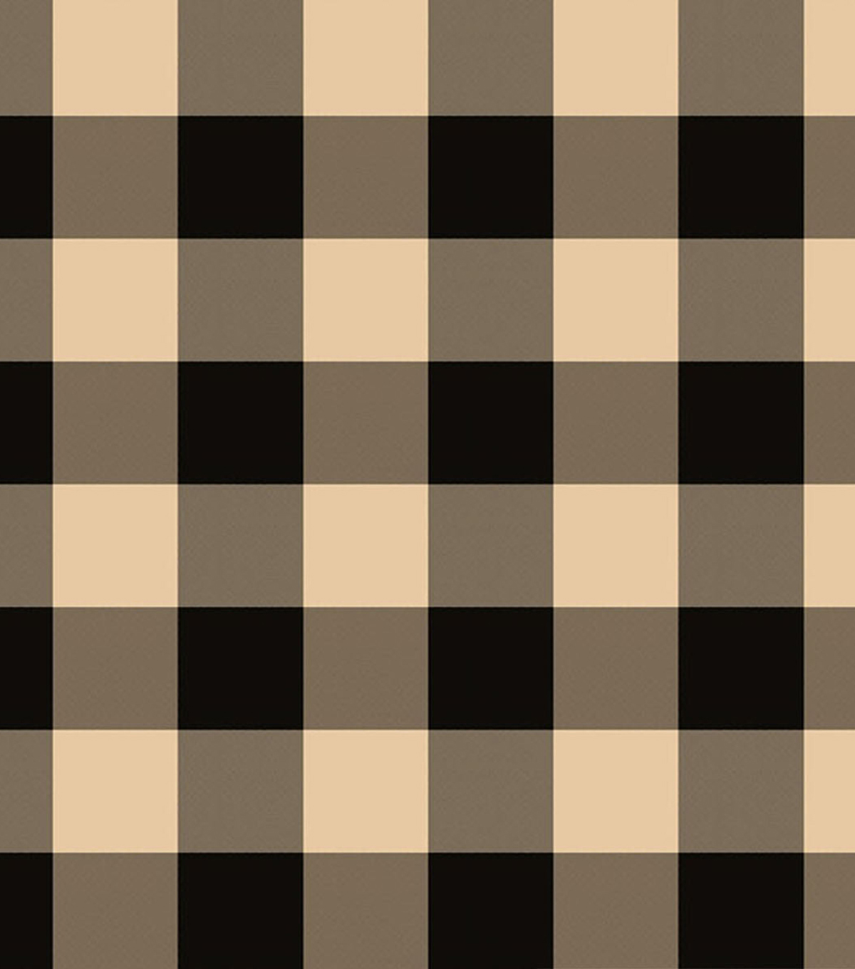 Covington Lightweight Decor Fabric-Black/Tan