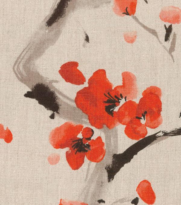 P Kaufmann Upholstery Fabric 54 U0027 Cherry Blossom Festival