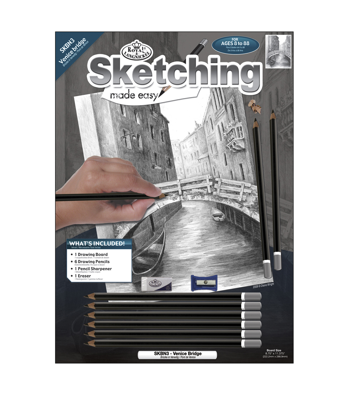 Venice Brg-sketch Made Easy Kit