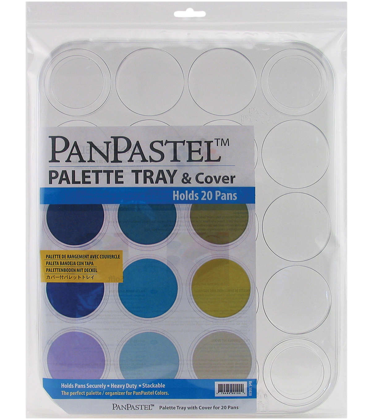 PanPastel 20 Color Palette Tray & Cover