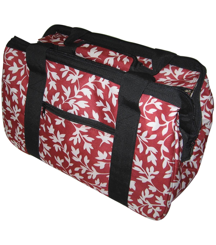 Janetbasket Red Fl Eco Bag 18 U0022 X 10