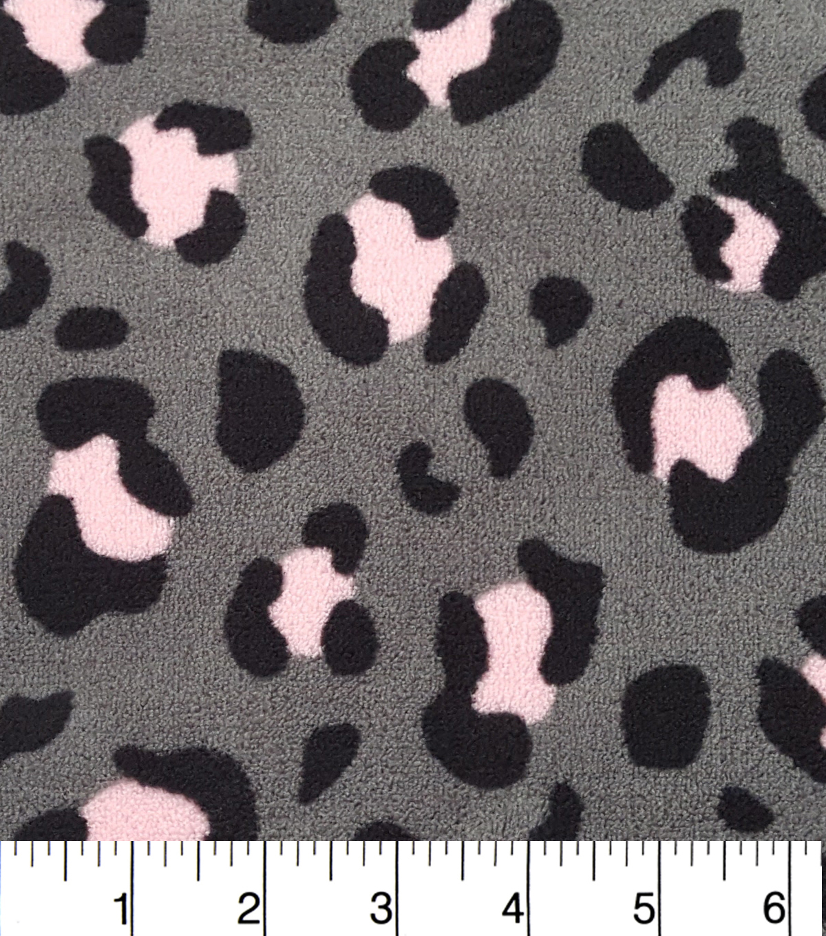 Ultra Fluffy Fleece Fabric 57\u0022-Pink Calm Cheetah
