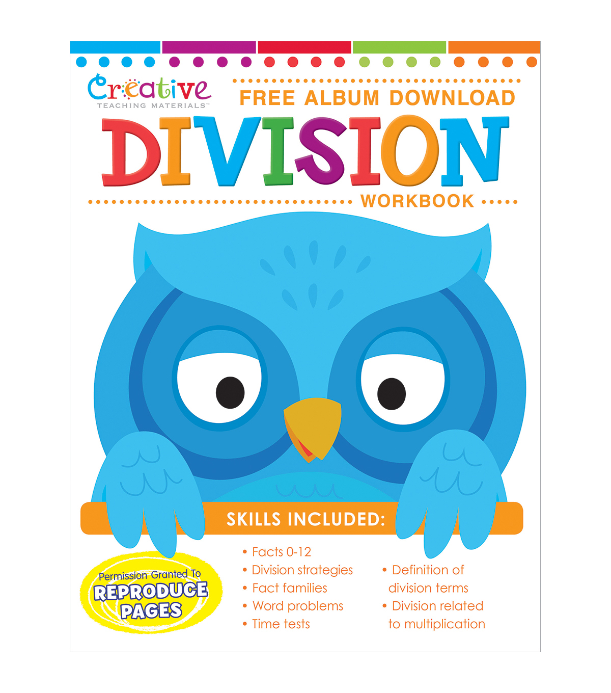 Creative Teaching Materials Workbook-Division