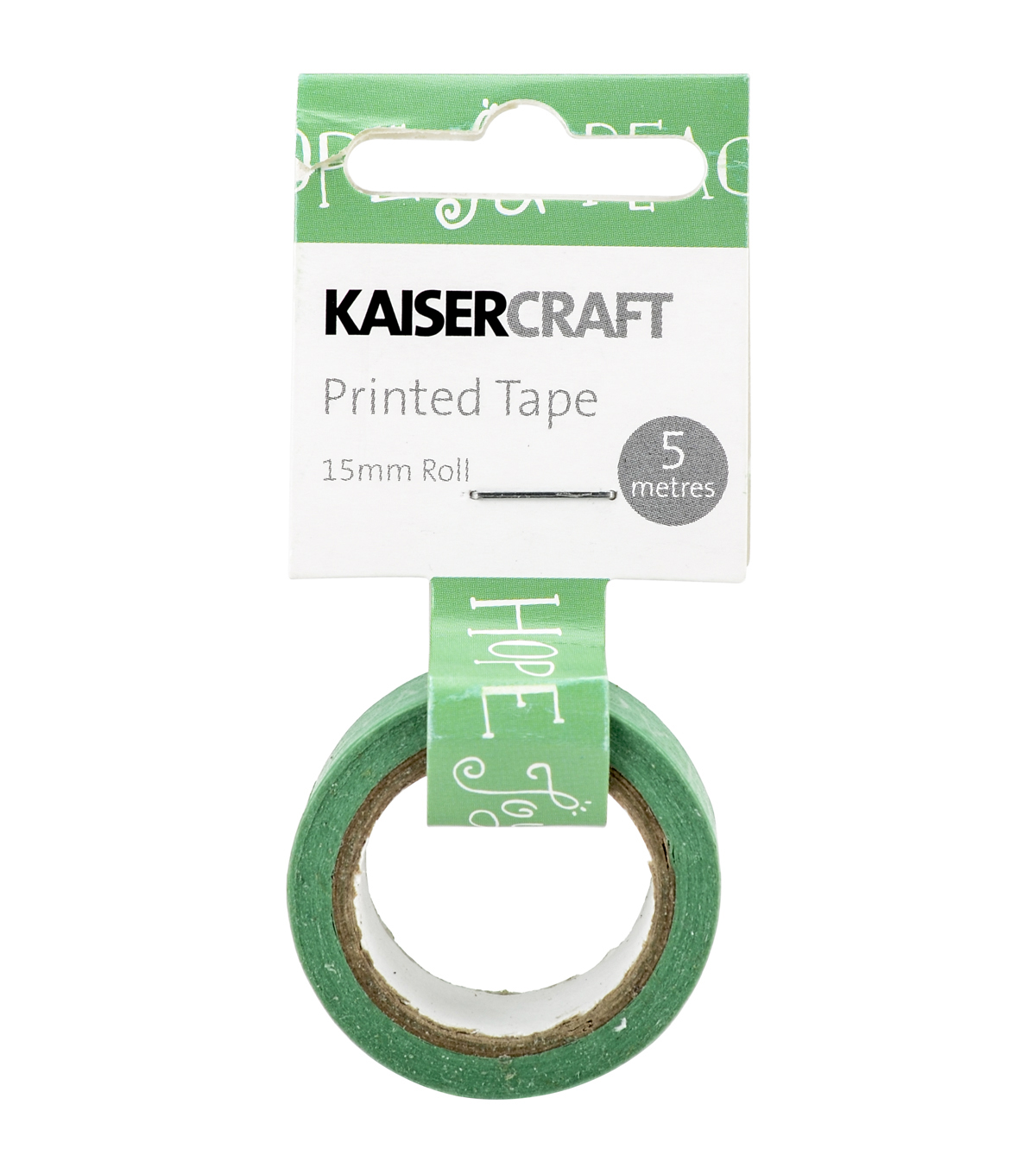 Kaisercraft Printed Tape .5\u0027\u0027x16.5\u0027-Christmas Cheer