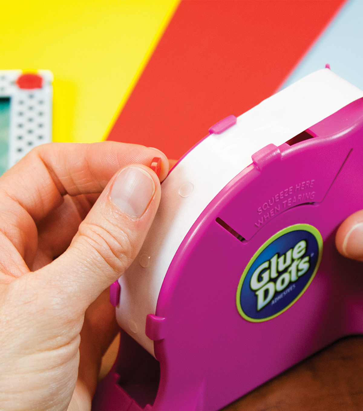 Glue Dots Desktop Dispenser-