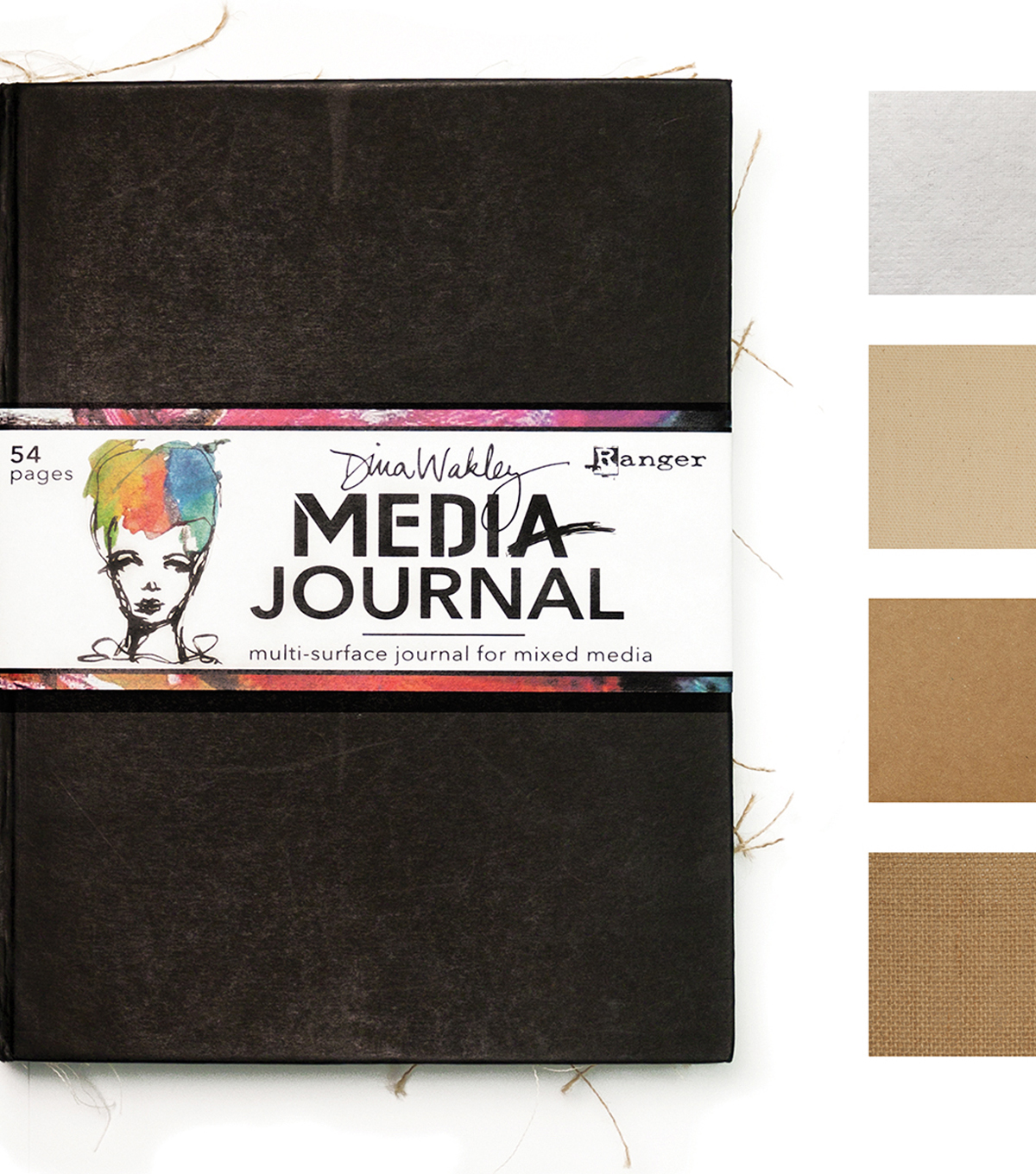 Dina Wakley Media Journal 8\u0022X10\u0022