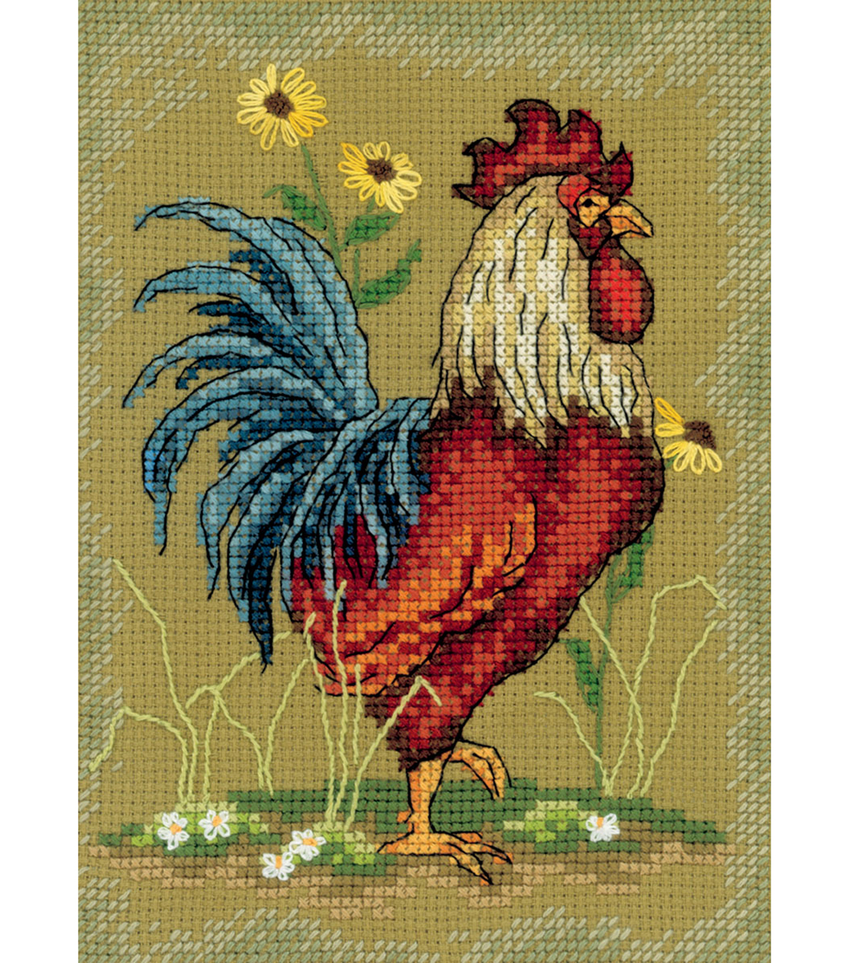 At The Crack Of Dawn I Counted Cross Stitch Kit 14 Count