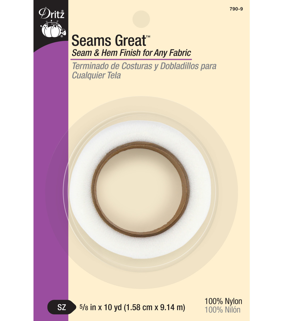Dritz Seams Great-5/8\u0022W x 10yds