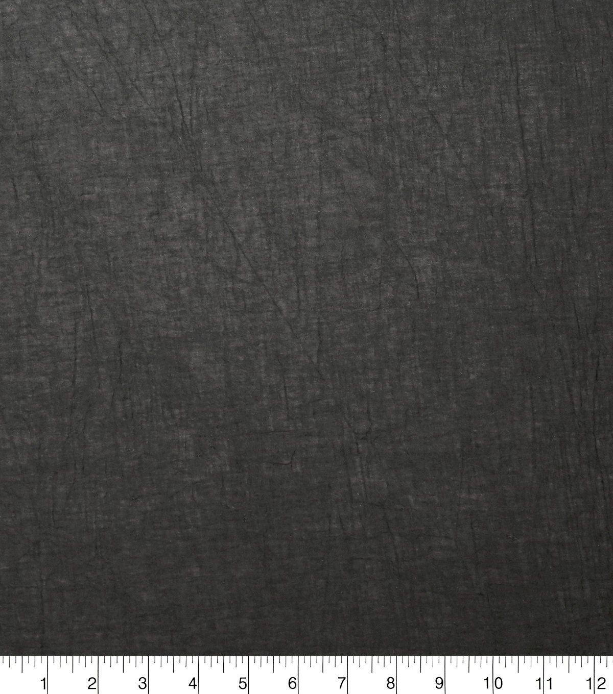 Specialty Solid Cotton Gauze Fabric, Black
