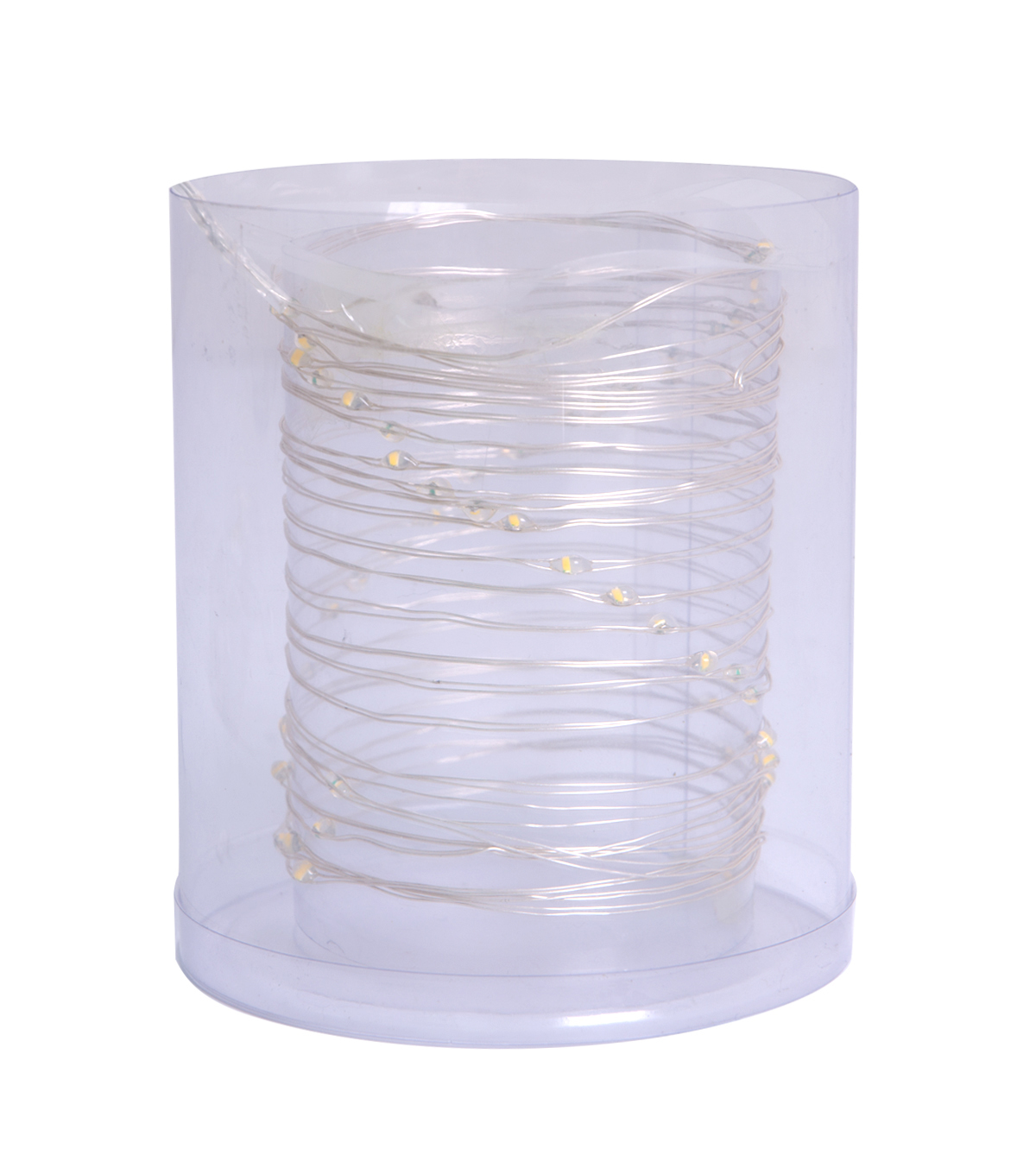 419a0c66ca LED String Lights 50ct-Warm White With Silver Wire