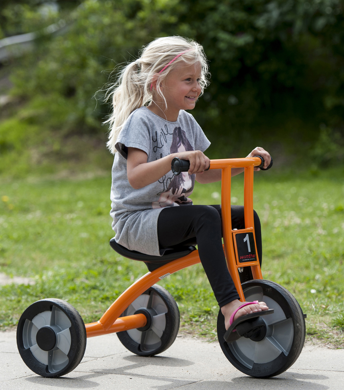 Winther Circleline Medium Tricycle-Orange