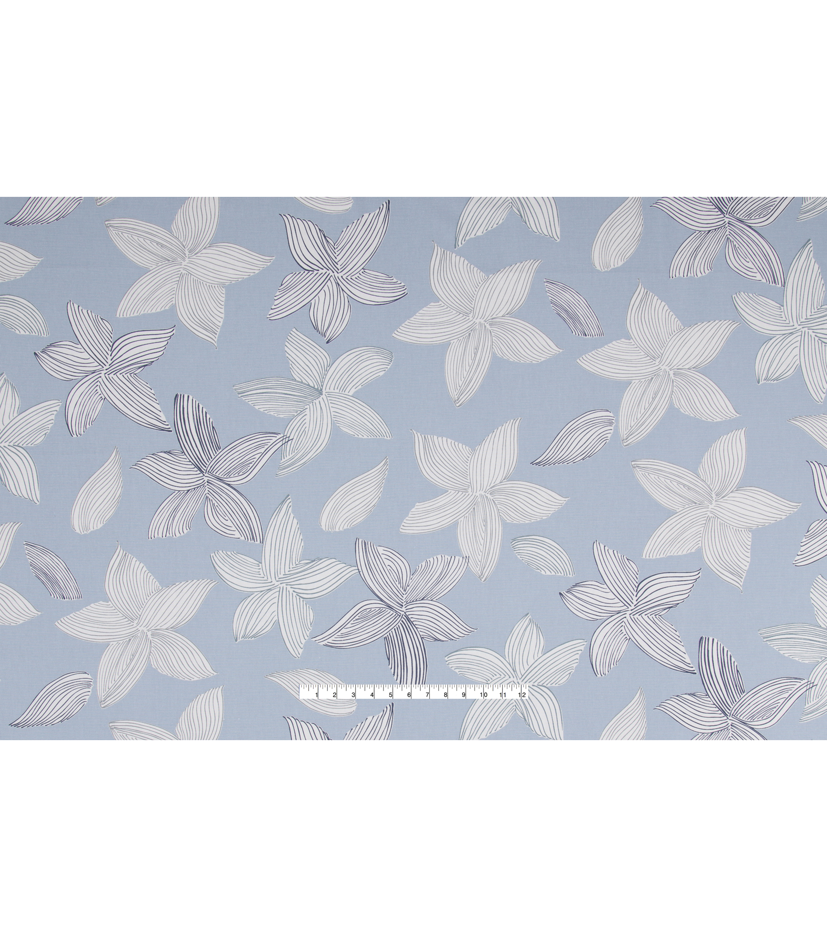 Nate Berkus Multi-Purpose Decor Fabric 54\u0027\u0027-Sky Laina Floral Paramount
