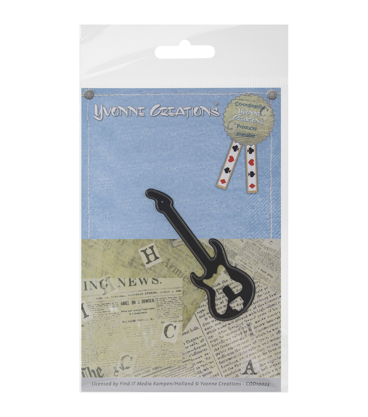 Yvonne Creations Men\u0027s Die-Guitar