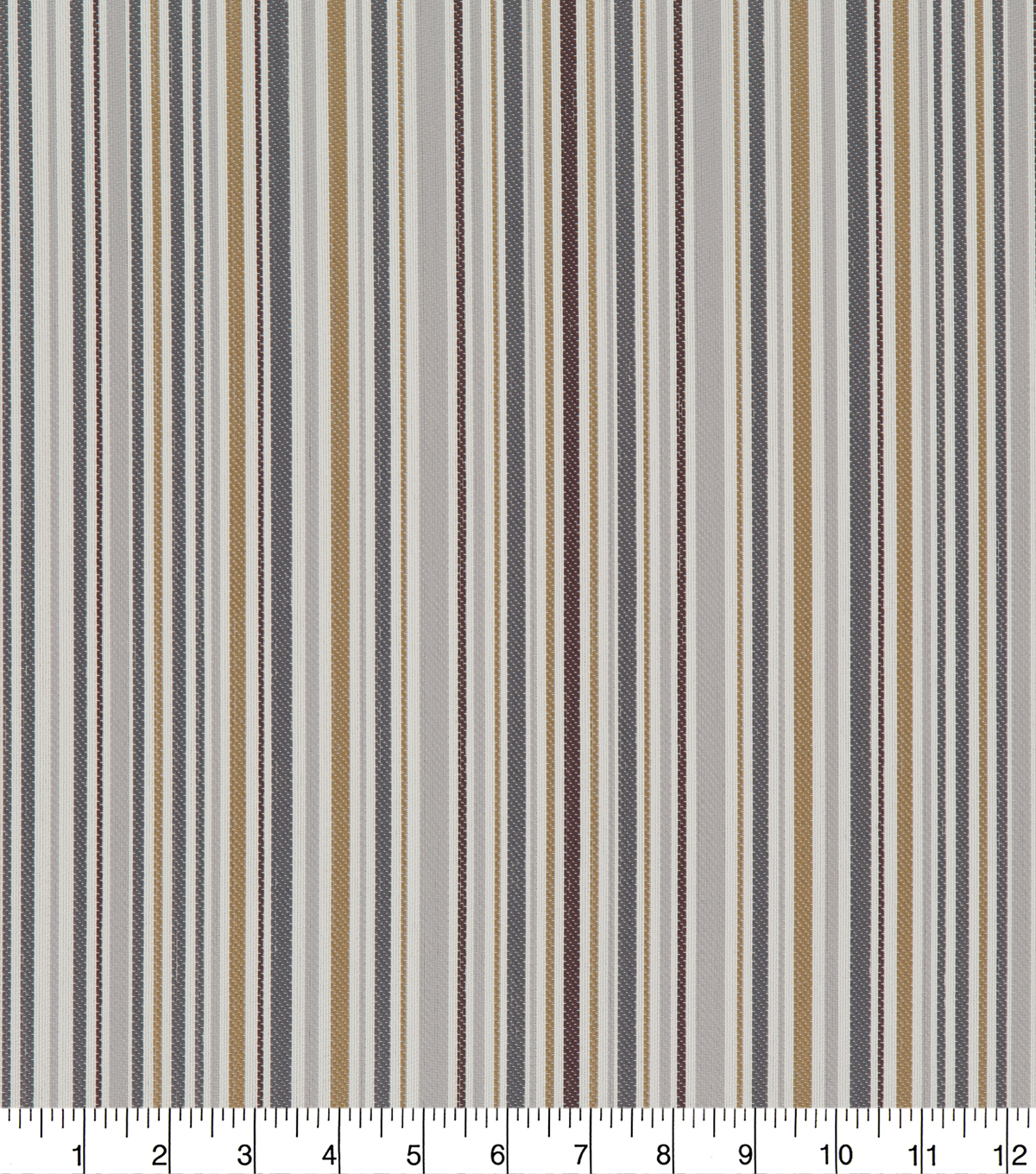 Robert Allen @ Home Upholstery Swatch 56\u0022-Key Band Greystone