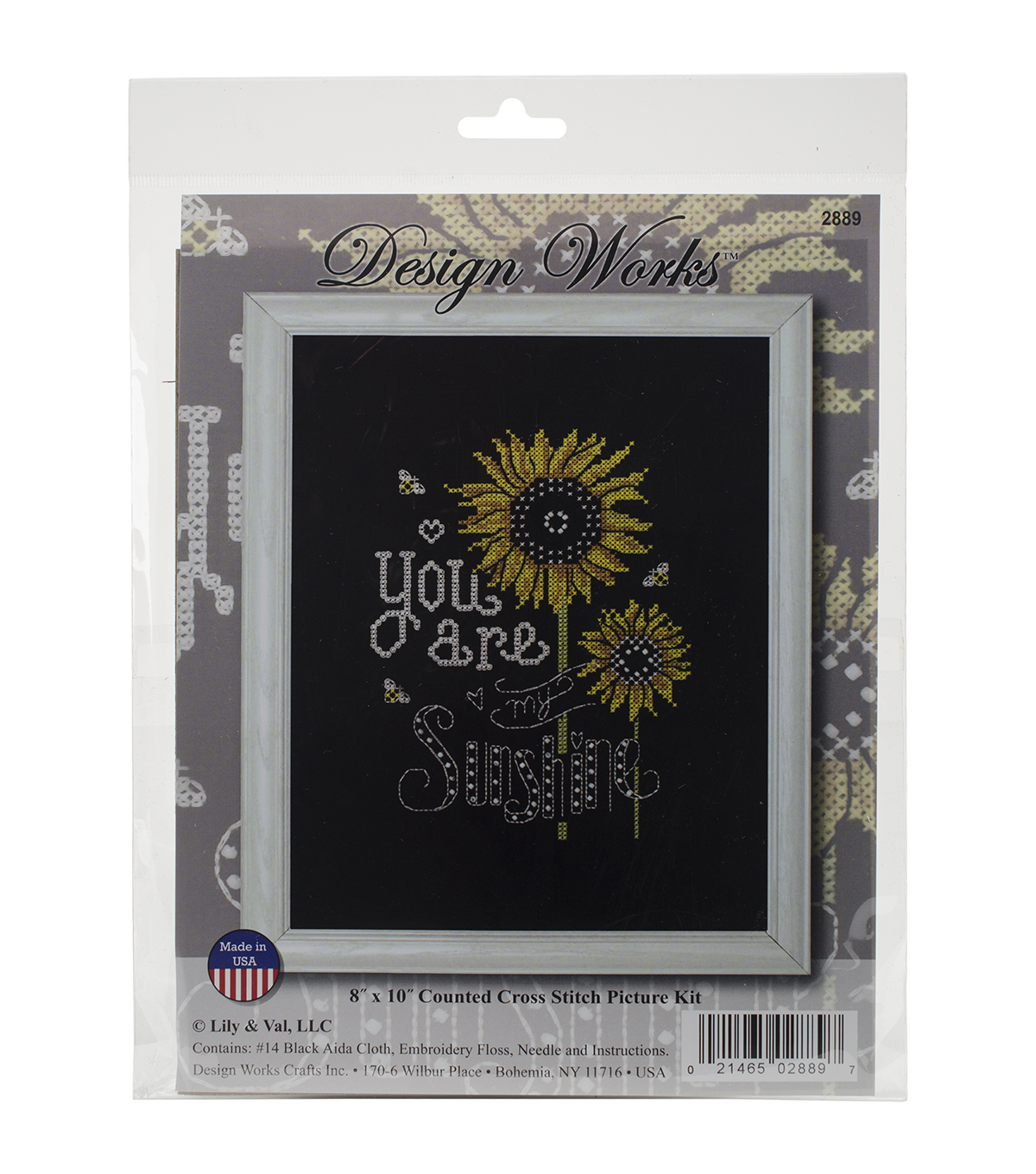 Design Works You Are My Sunshine Counted Cross Stitch Kit