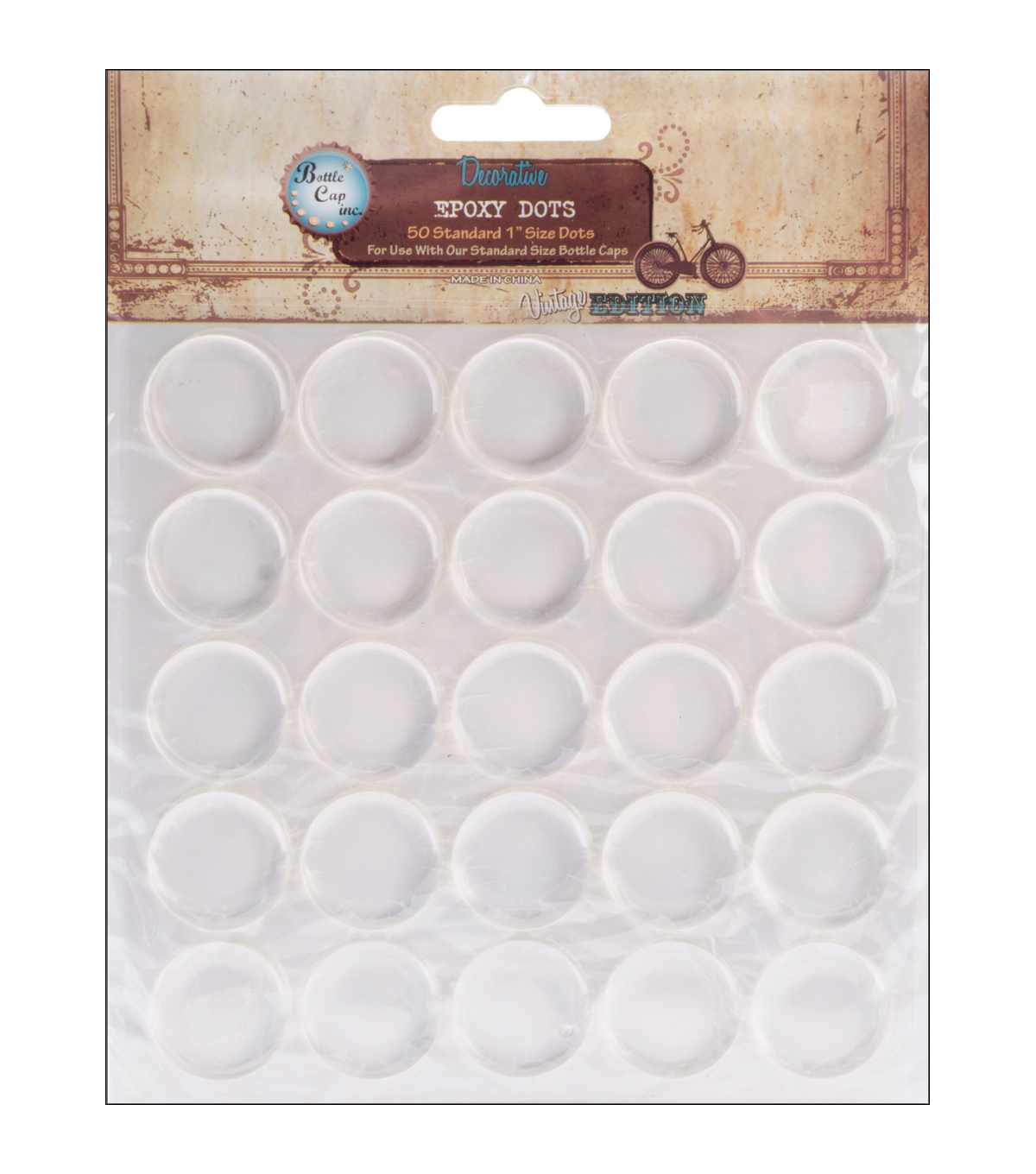 Vintage Collection Epoxy Dots 1\u0022 50/Pkg-