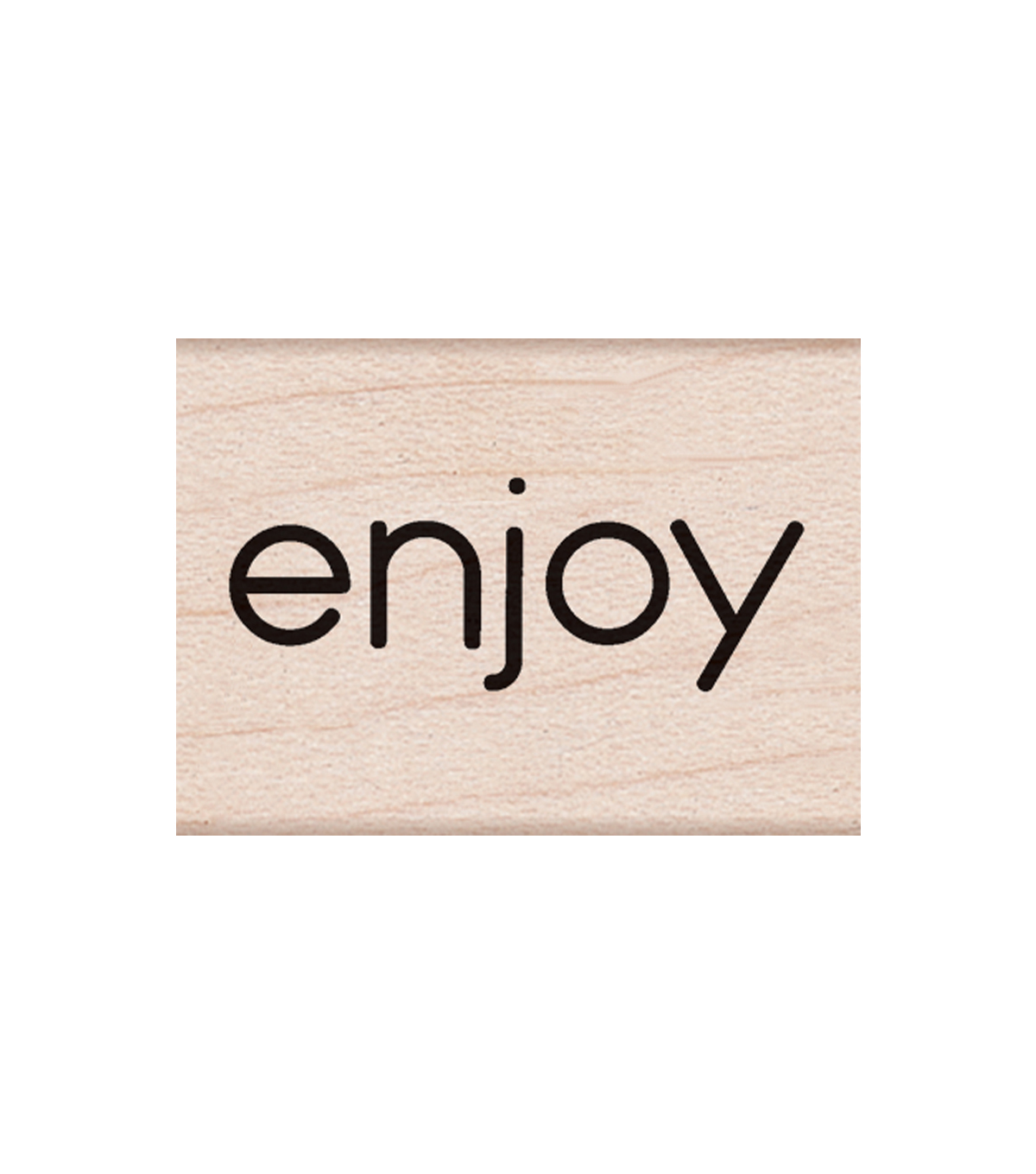 Hero Arts Wood Mounted Rubber Stamp-Enjoy Message