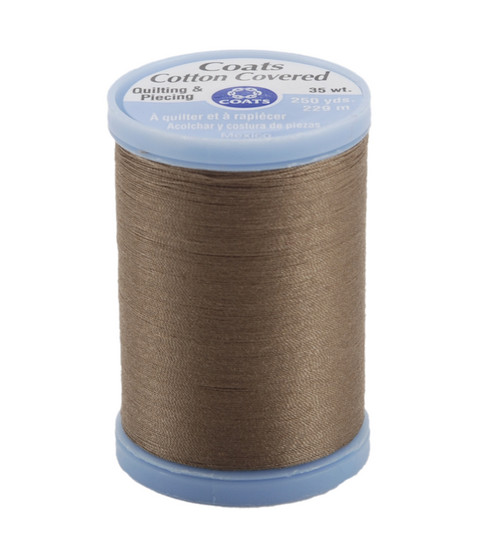 Coats & Clark Cotton Covered Quilting & Piecing Thread 250 Yards , 8630 Driftwood