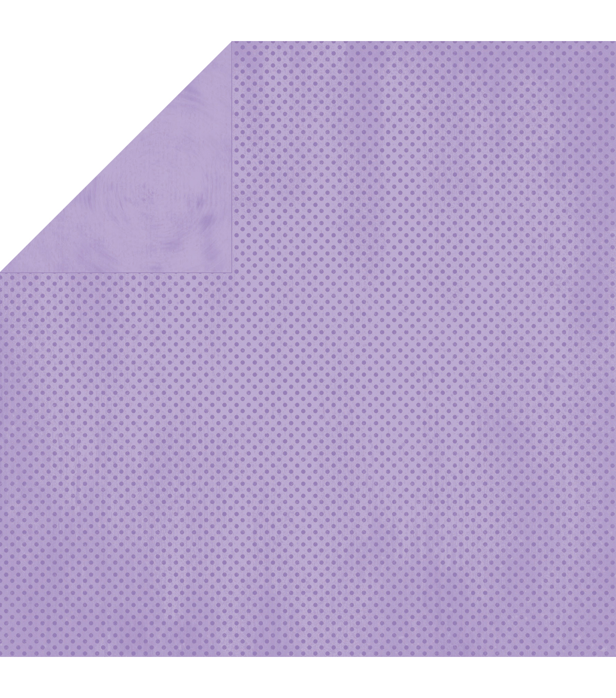 BoBunny Double Dot Double-Sided Textured Cardstock 12\u0022X12\u0022-Lavender