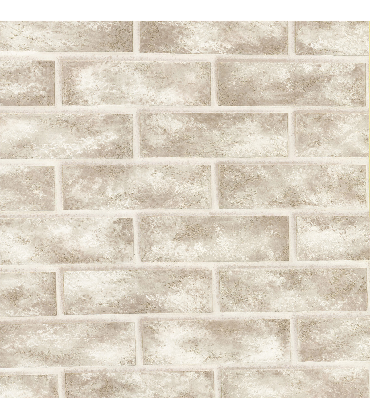 Urbania White Brick Texture Wallpaper