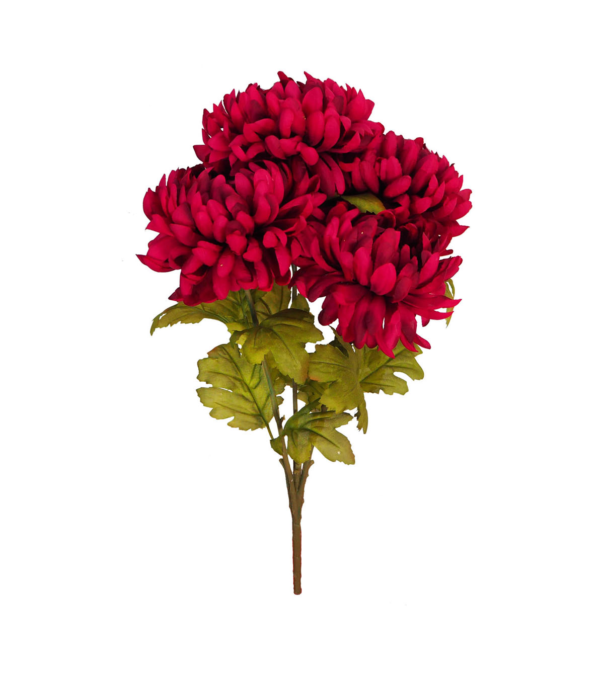 Blooming Autumn Water Resistant Mum Bush-Dark Berry