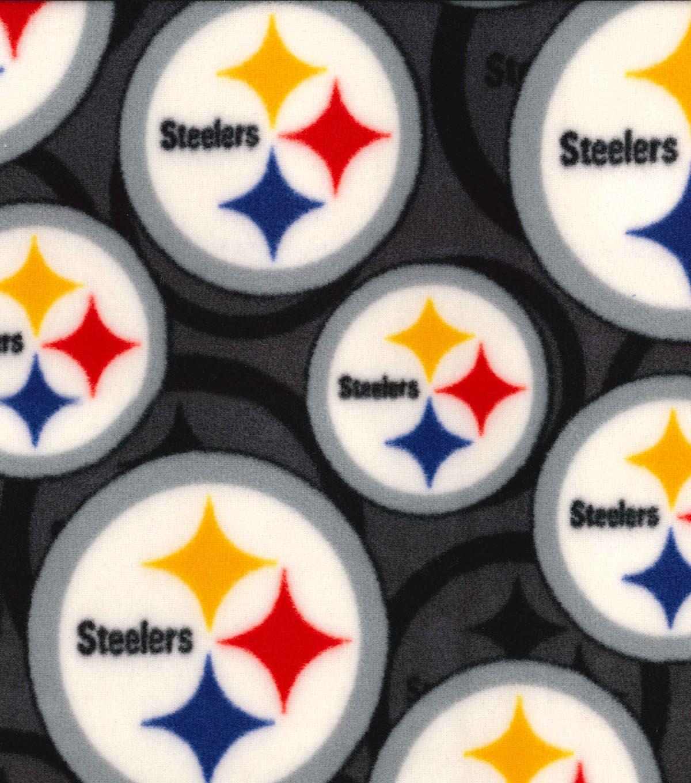 Pittsburgh Steelers Fleece Fabric 58 Logo Joann