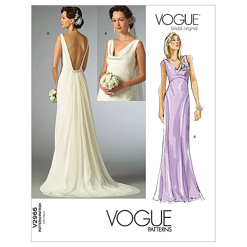 Vogue Patterns Misses Bridal-V2965