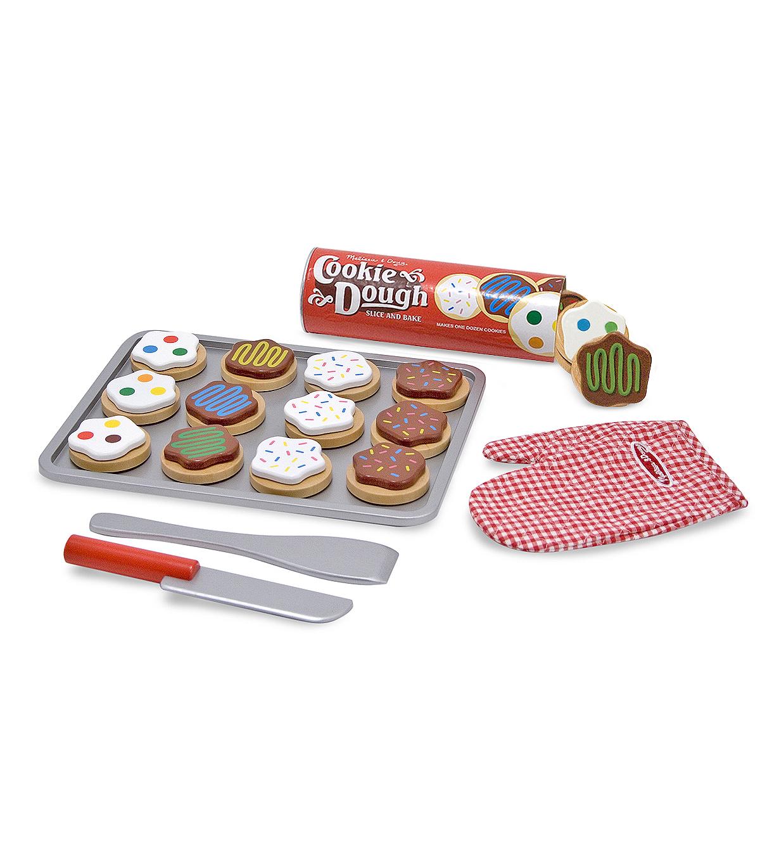 Melissa Doug Wooden Food Set Slice Bake Cookies