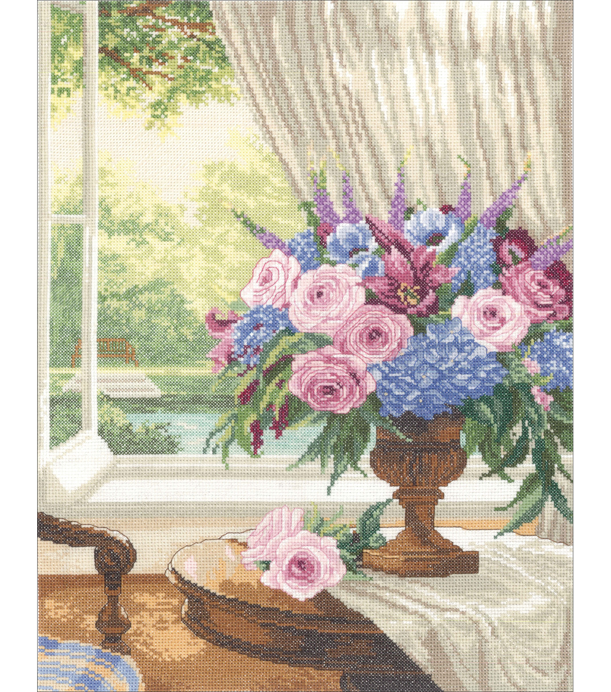 Estate II Counted Cross Stitch Kit-12\u0022X16\u0022 14 Count