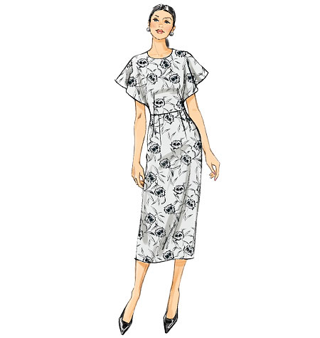 Vogue Patterns Misses Dress-V9021