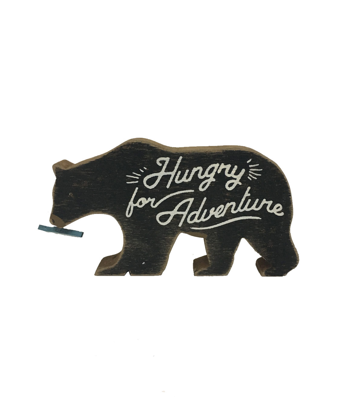 Camp Ann Bear Word Block-Hungry for Adventure