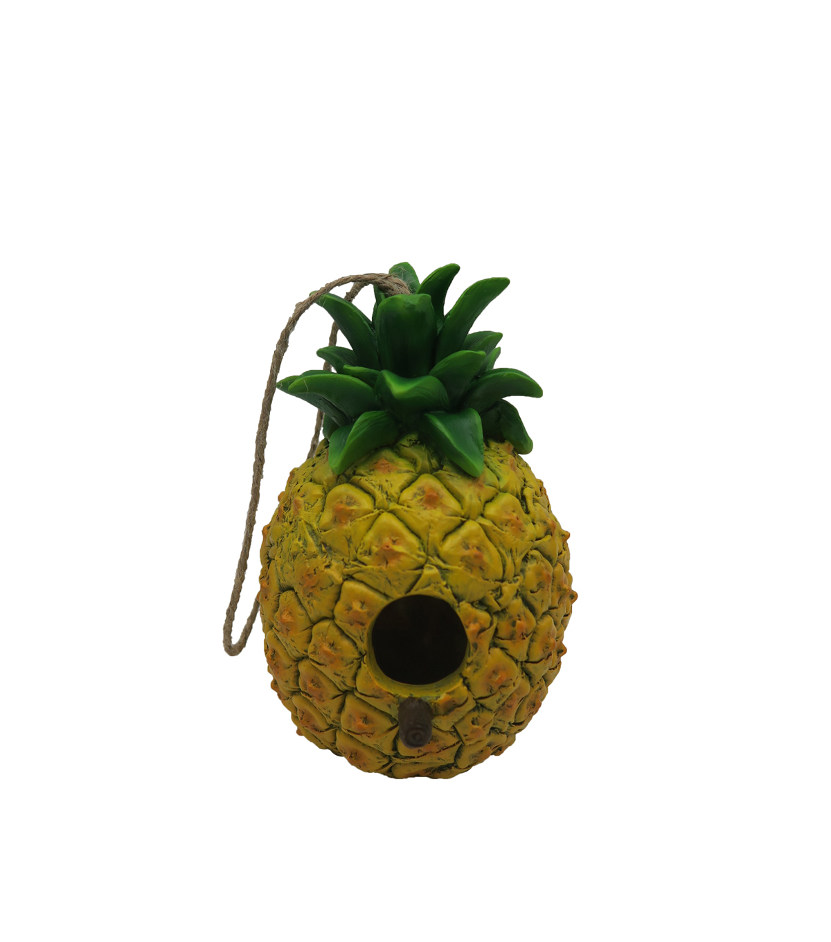 In the Garden Pineapple Birdhouse-Yellow