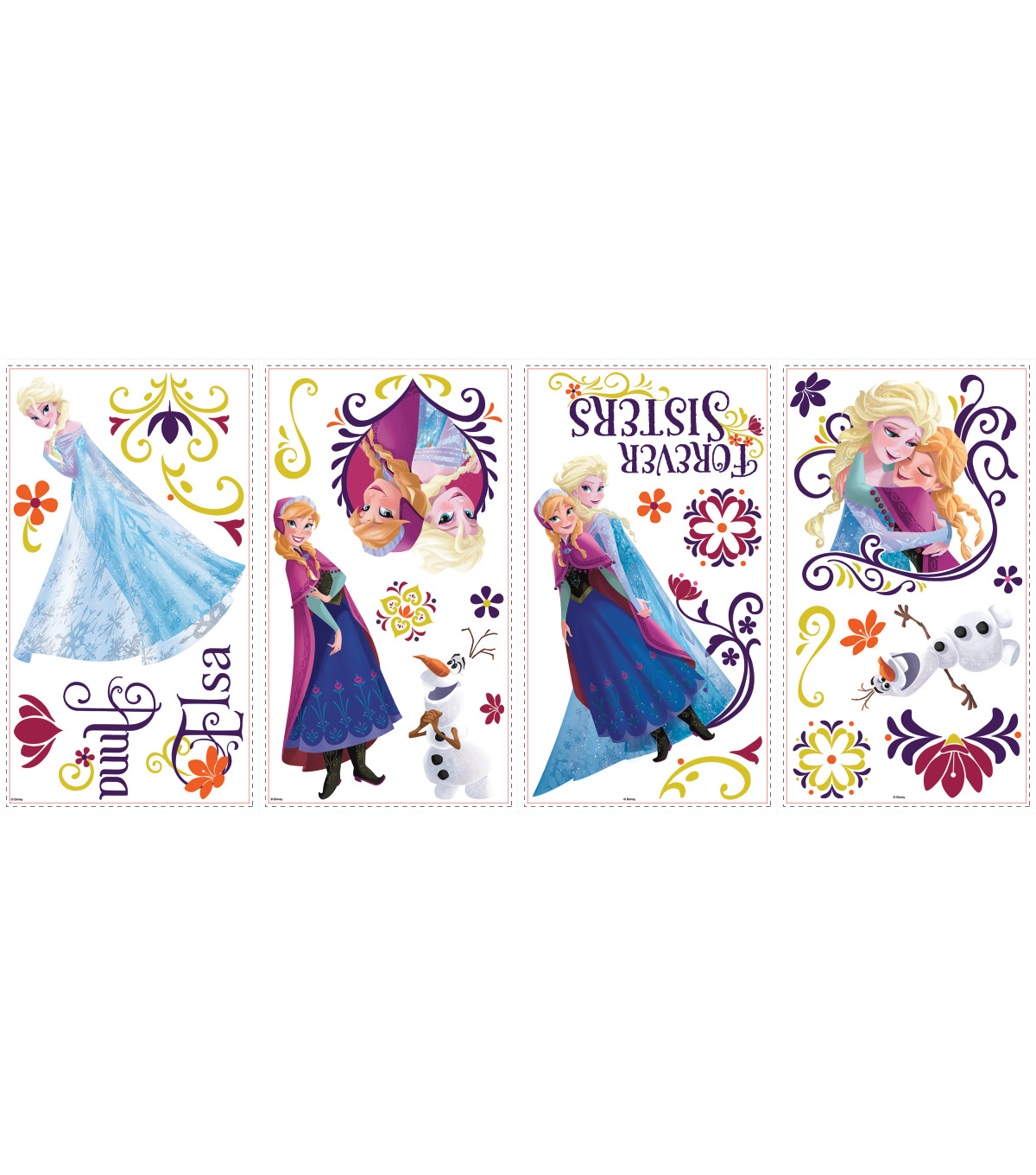 York Wallcoverings Peel & Stick Wall Decals-Frozen Spring