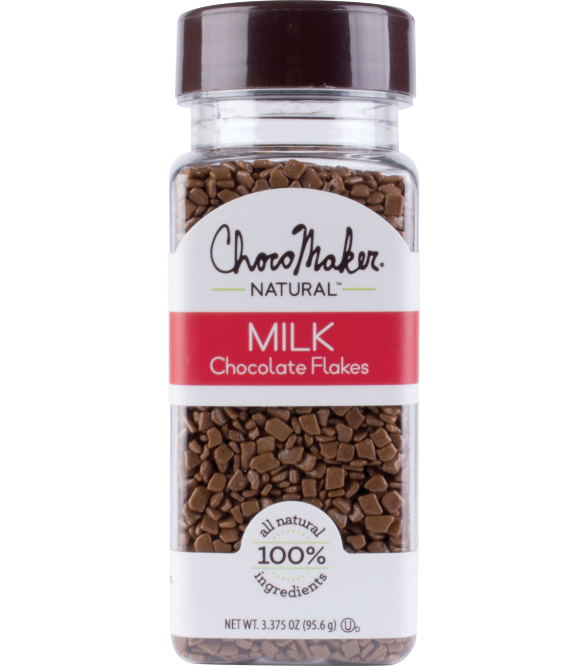 ChocoMaker Natural 3.38 oz. Milk Chocolate Flakes