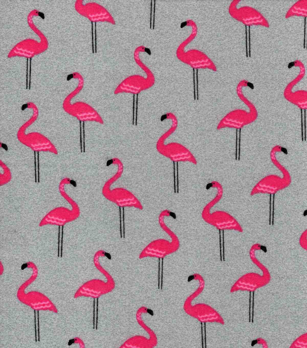 Luxe Flannel Fabric-Flamingo