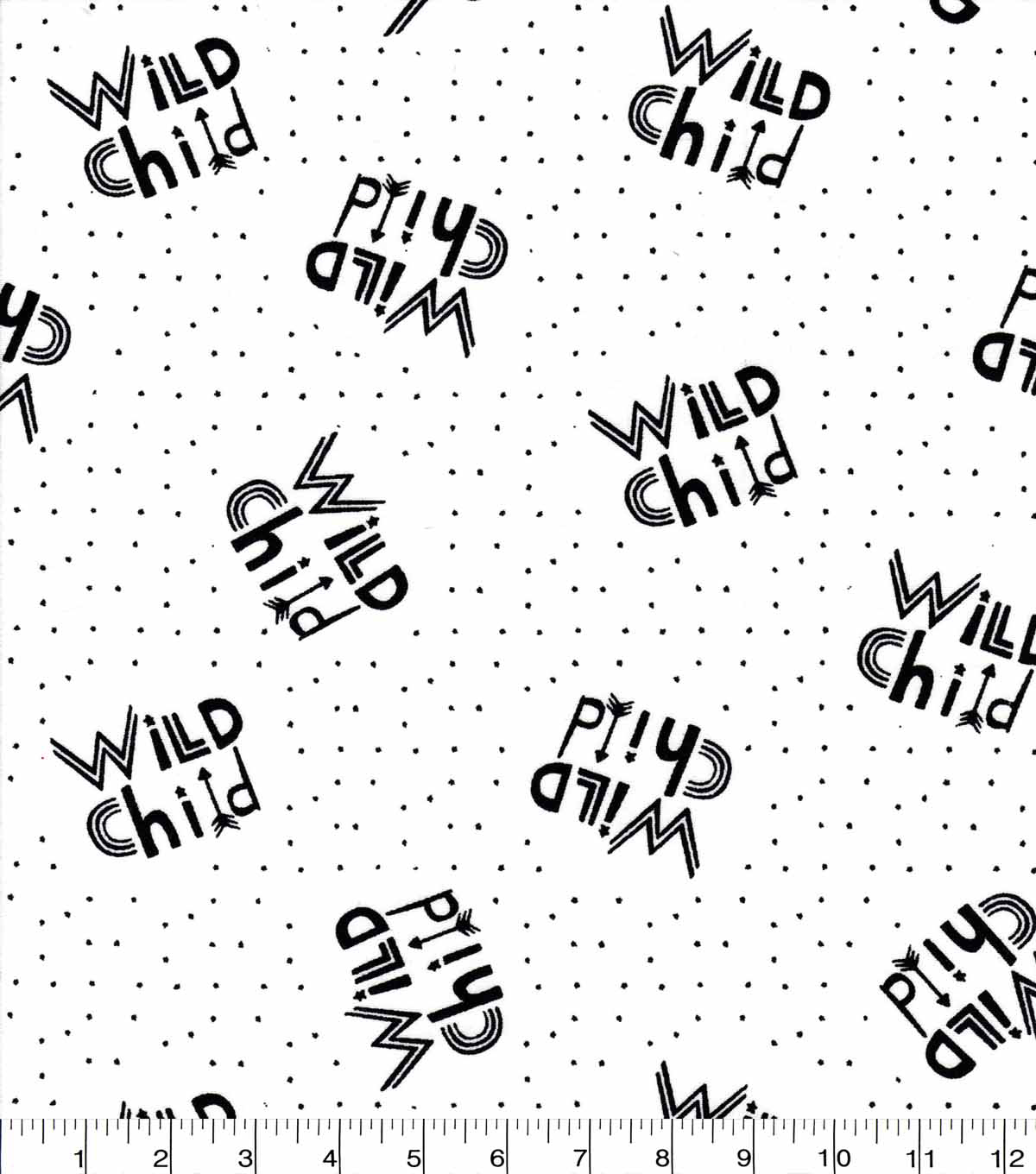 Nursery Cotton Fabric-Wild Child