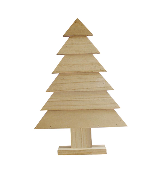 makeru0027s holiday craft unfinished wood decor tree