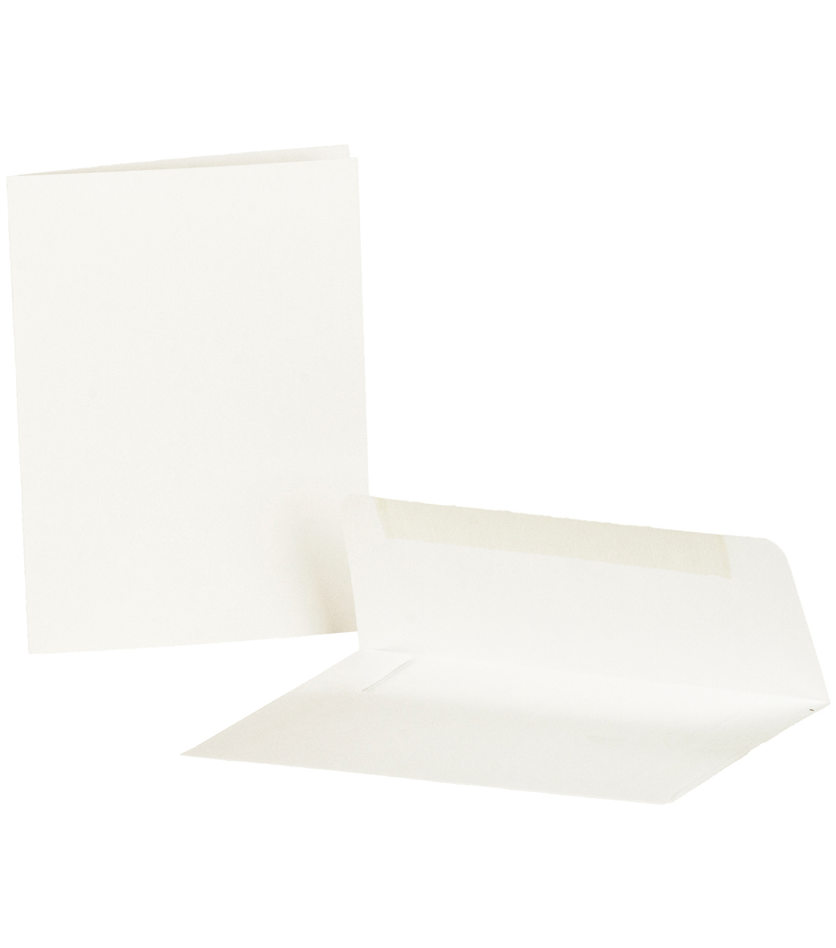 Canvas Corp White 25Pk Cards & Envelopes 4X5.5 in