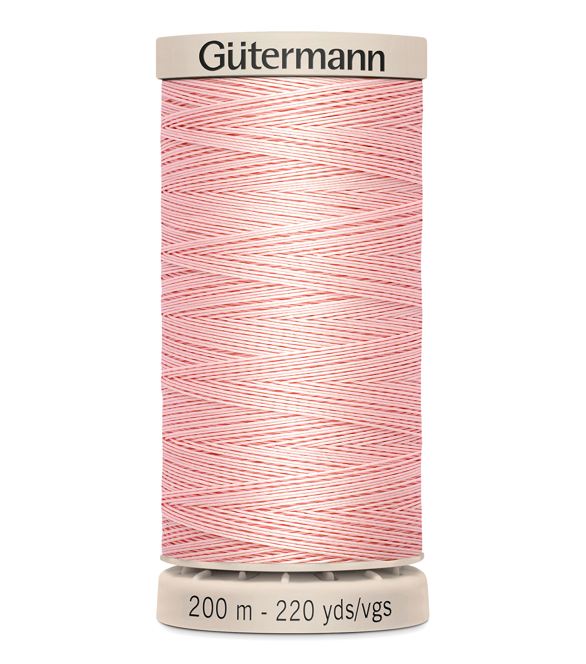 Gutermann Hand Quilting Thread 200 Meters (220 Yrds)-Primary, Pink #2538