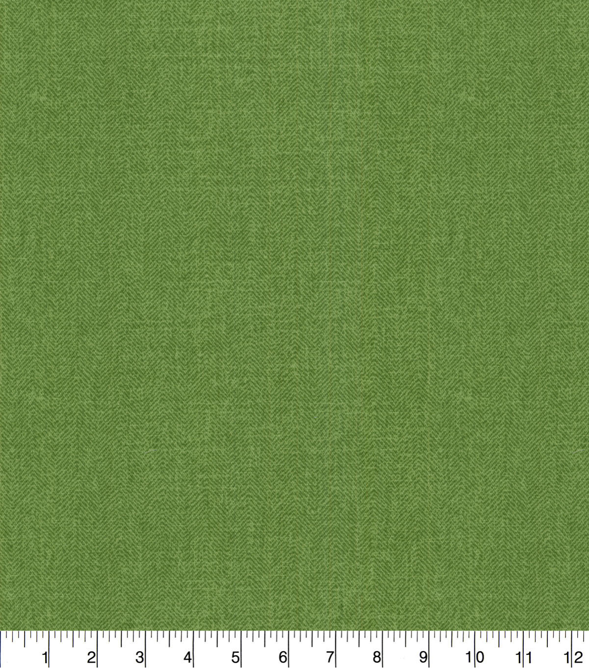 Waverly Upholstery Décor Fabric 9\u0022x9\u0022 Swatch-Herringbone Solid Verte