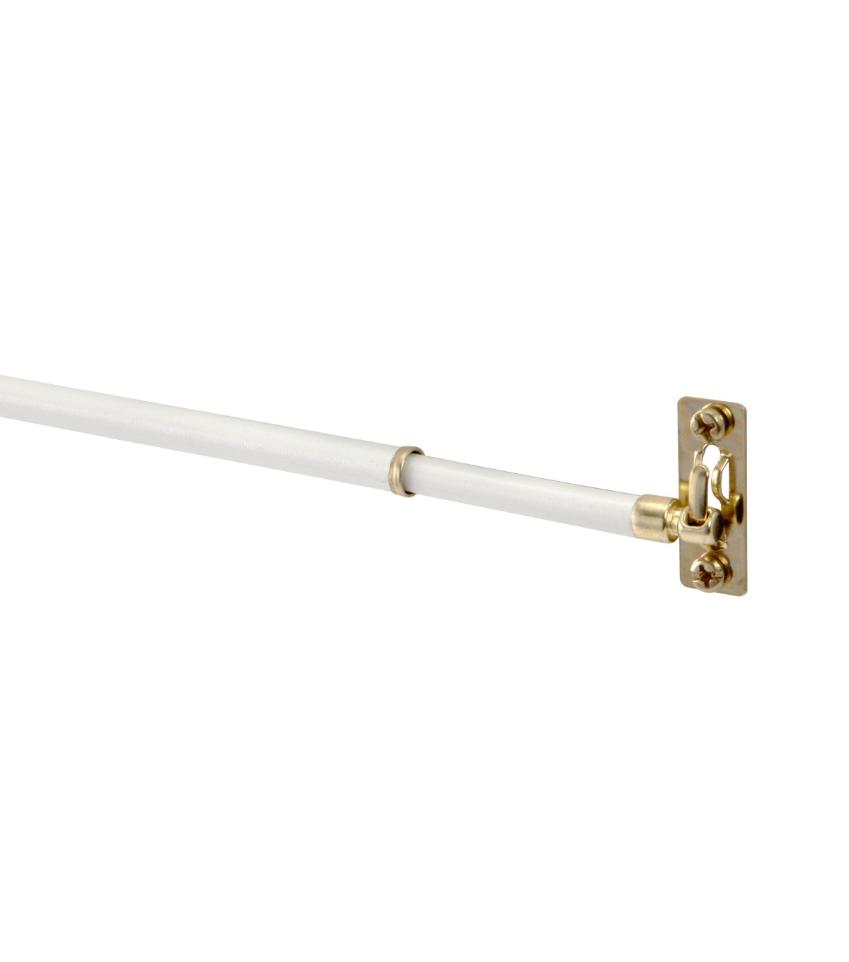 Kenney 11\u0022 to 19\u0022 Swivel Sash Rod-White